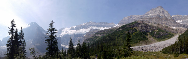 Mts. Lefroy and Victoria, Collier Peak, Banff National Park, Alberta, Canada