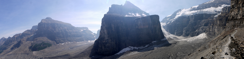 Mts. Lefroy and Victoria, Banff National Park, Alberta, Canada